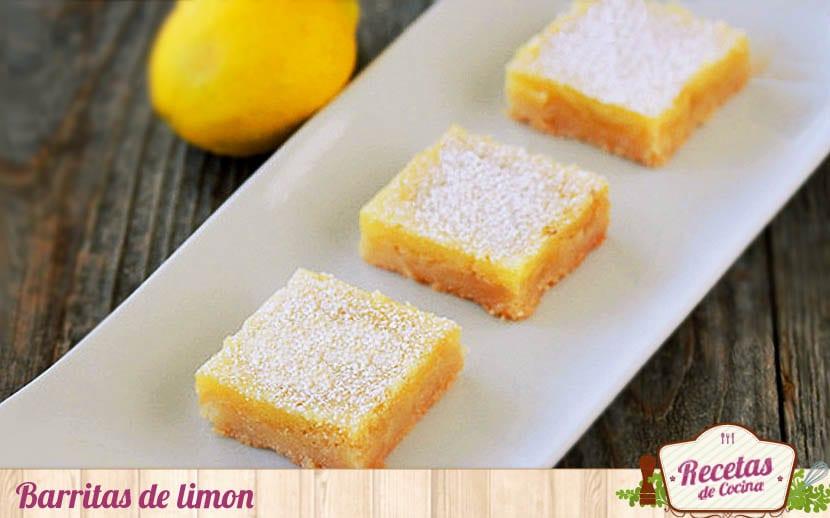 Barritas o cortaditos de limón