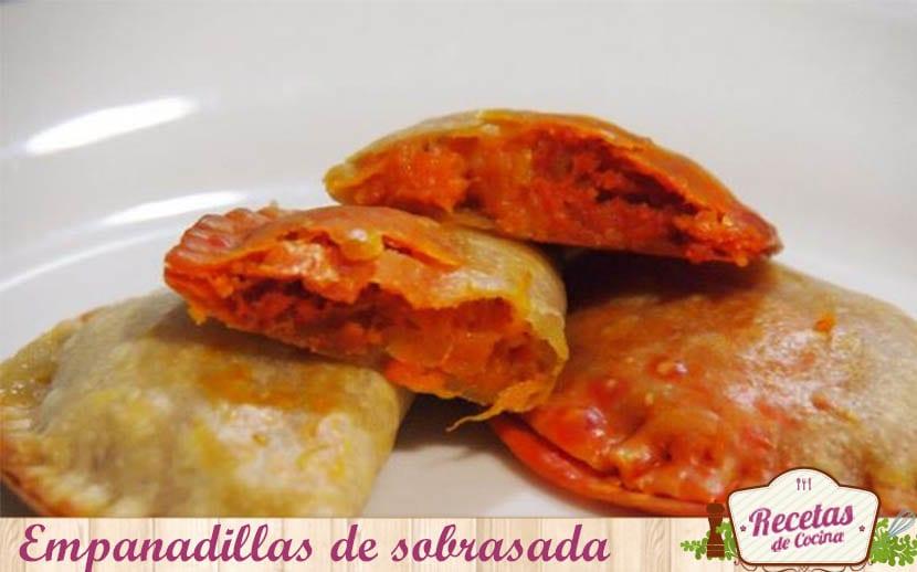 empanadillas de sobrasada