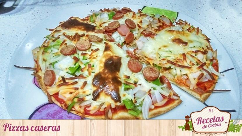 Pizzas caseras ricas y sanas - Comidas ricas sanas y faciles ...