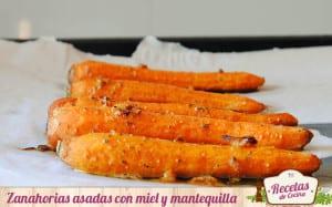 Zanahorias asadas con miel