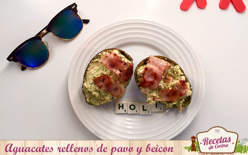 Aguacate pavo beicon