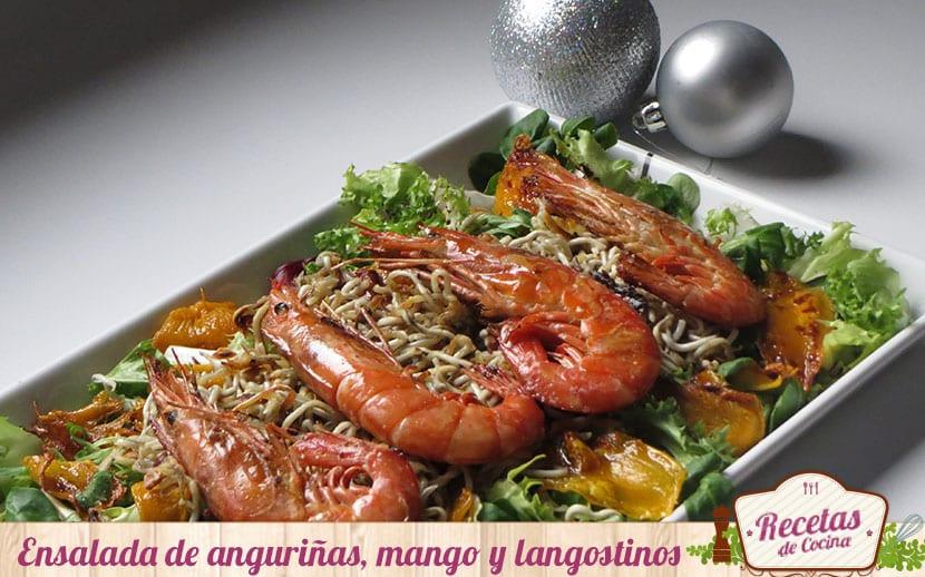 Ensalada-de-gulas,-mango-y-langostinos