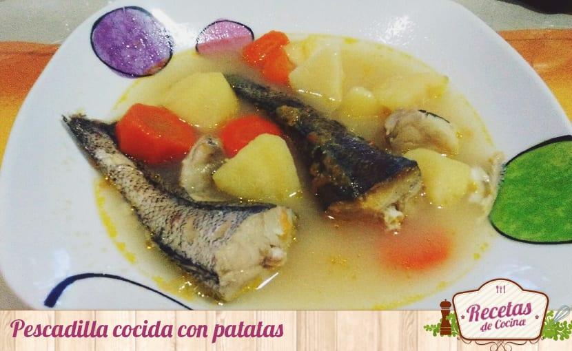 Pescadilla cocida con patatas