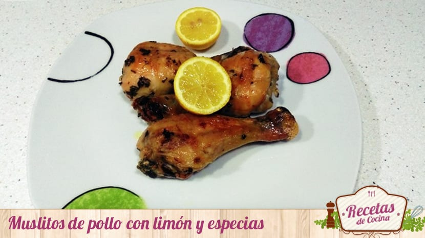 Muslitos de pollo con limón y especias