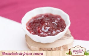 Mermelada fresas casera