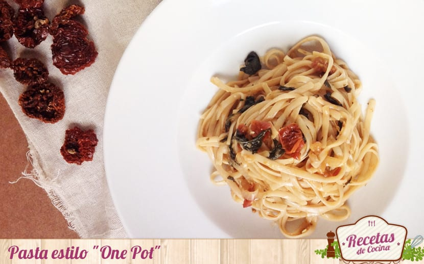 "Pasta estilo ""One Pot"""