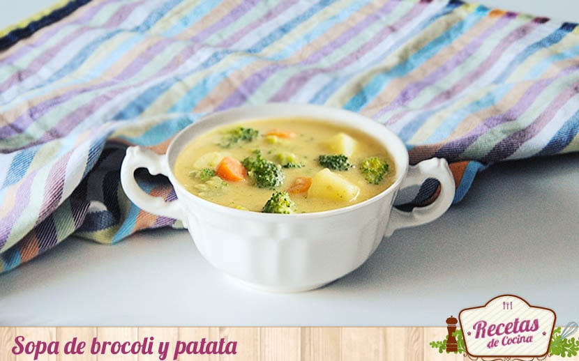 Sopa de brocoli y patata