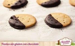 Pastas sin gluten con chocolate