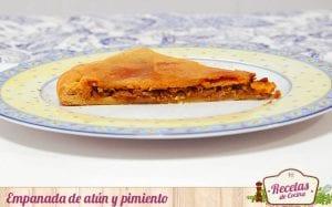 Empanada de atun y pimiento