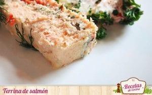 Terrina de salmón