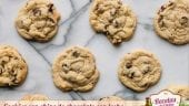 Cookies con chips de chocolate con leche