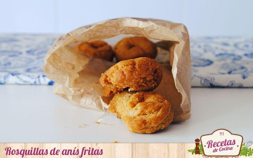 Rosquillas de anís fritas
