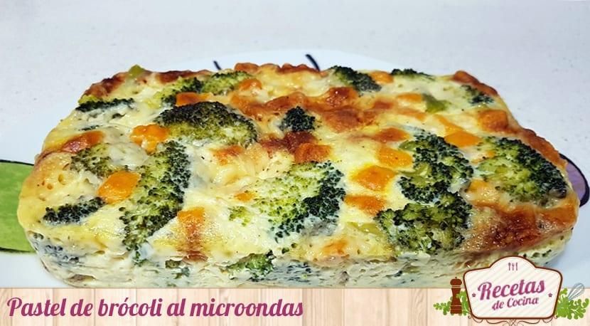 Pastel De Brócoli Al Microondas