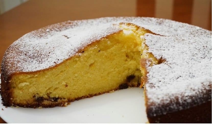 Ricetta Pan Di Spagna Yogurt.Torta Allo Yogurt E Arancia Per Una Buona Colazione Ricette Di Cucina