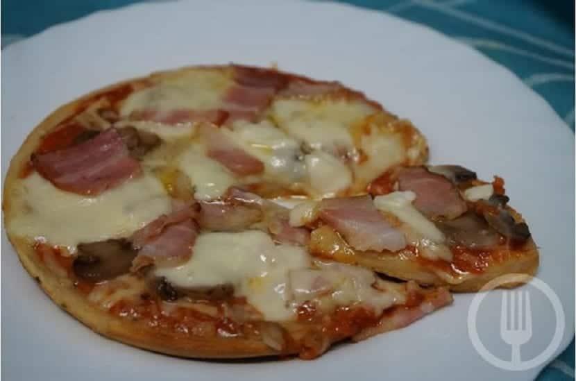 Pizza Con Masa Quebrada