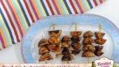 Brochetas de champiñones al balsámico