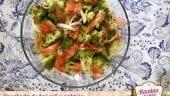 Ensalada de brócoli y salmón