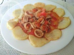 Chipirones en salsa