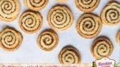 Galletas en espiral de vainilla y canela