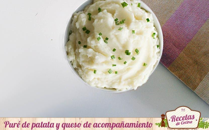Puré de patatas y queso
