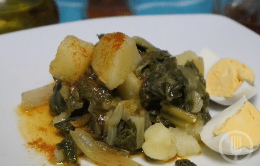 Acelgas Con Patatas Al Pimentón