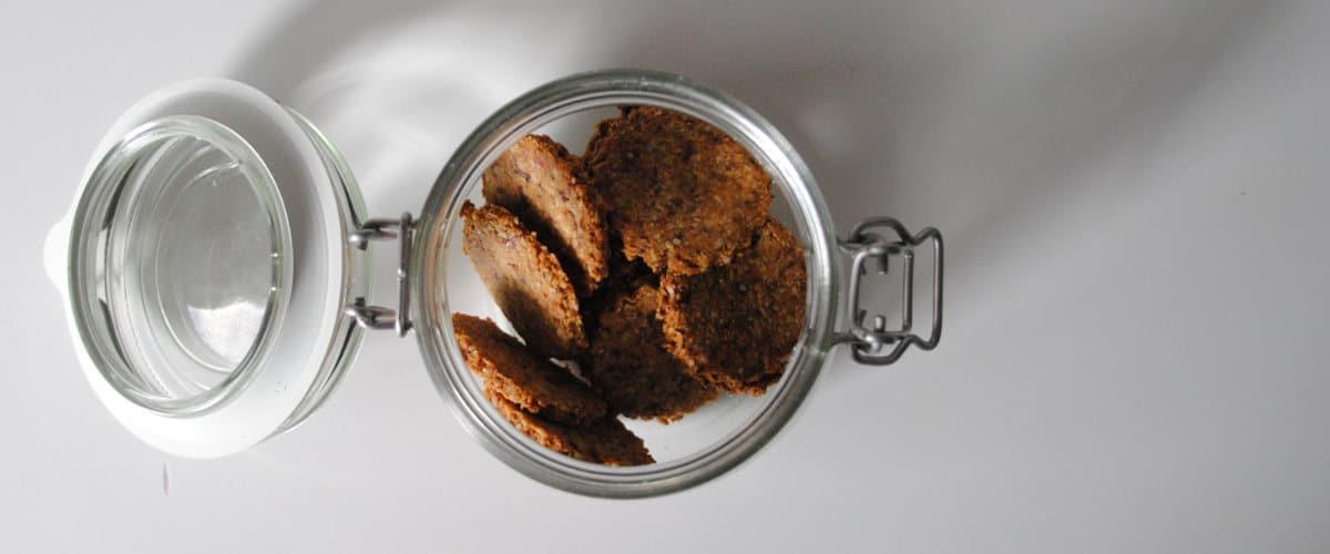Galletas de almendra y avena sin azúcar añadido