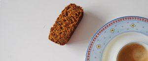 Bizcocho integral de avena y zanahoria