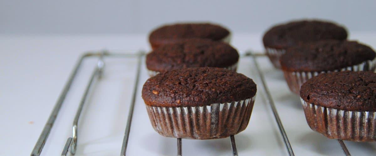 Magdalenas de calabaza y cacao
