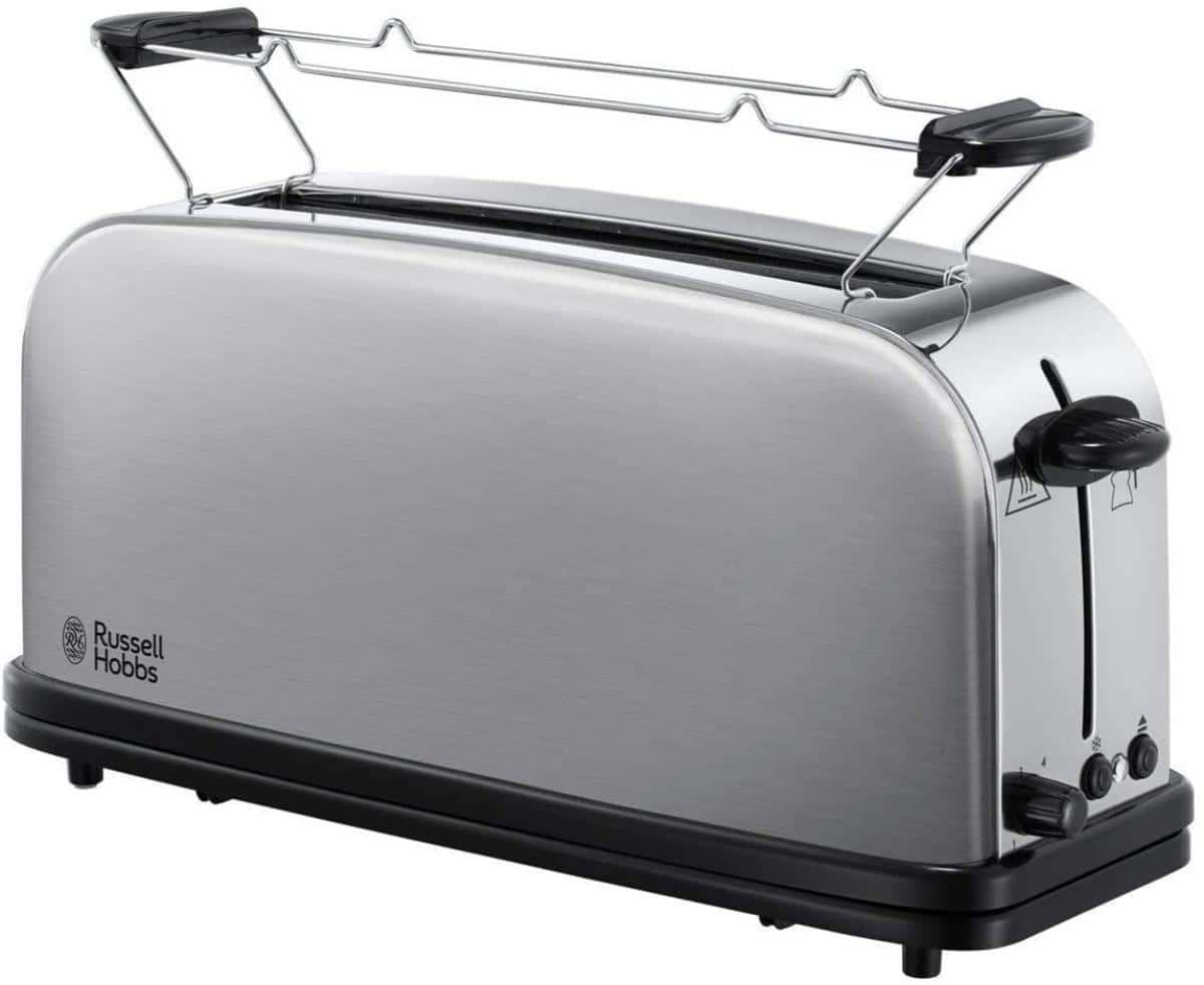 Las tostadoras son ideales para calentar pan