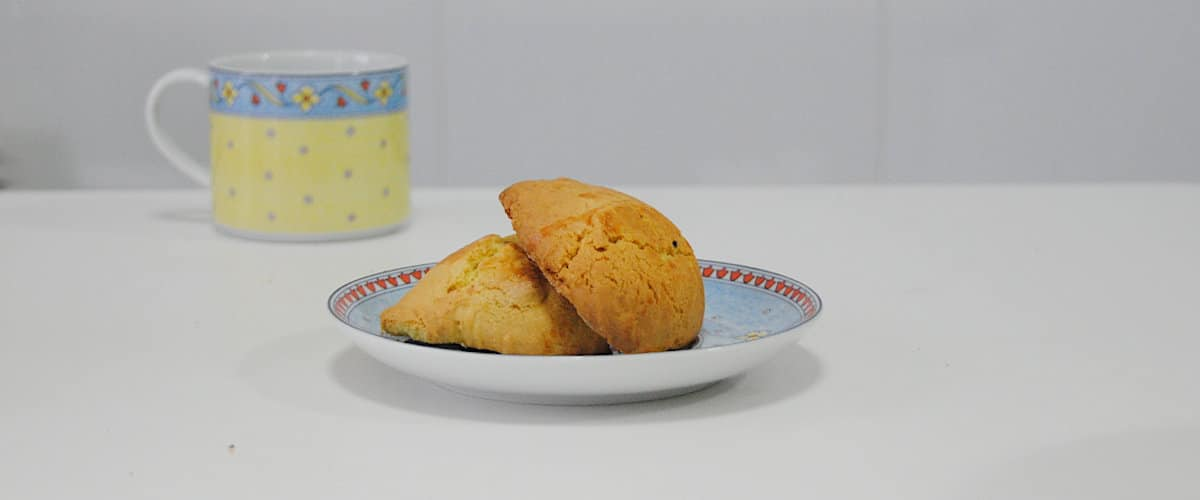 Galletas rústica de limón